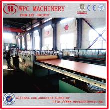 Panneau composite en plastique en bois fabriquant une machine / machine de fabrication de panneaux WPC