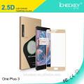 protector de cristal moderado curvado al por mayor de la pantalla de la cubierta completa 3D para Oneplus 3