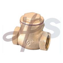 Válvula de retención oscilante de rosca C83600 F / F de bronce