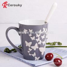 Двухцветная керамическая кружка кофе 11 унций