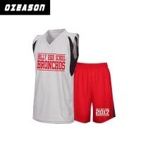 Ozeason Sportswear Custom Made Printed Basketball Jersey