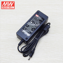 Original MEAN WELL GSM60B24-P1J 60W 24V adapter with ata to sata