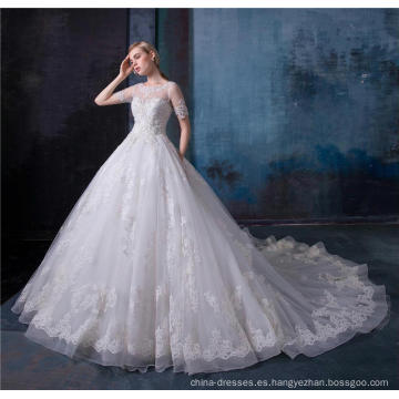 Alibaba vestido de novia al por mayor vestido nupcial HA606