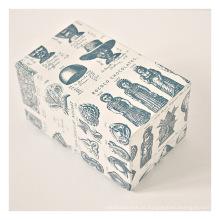 Caixa de embalagem de presente de papel quadrado personalizado