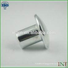tour de tête en aluminium rivets tubulaires