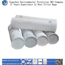 Bolso del colector de polvo del bolso de filtro de aire del poliéster HEPA para la industria