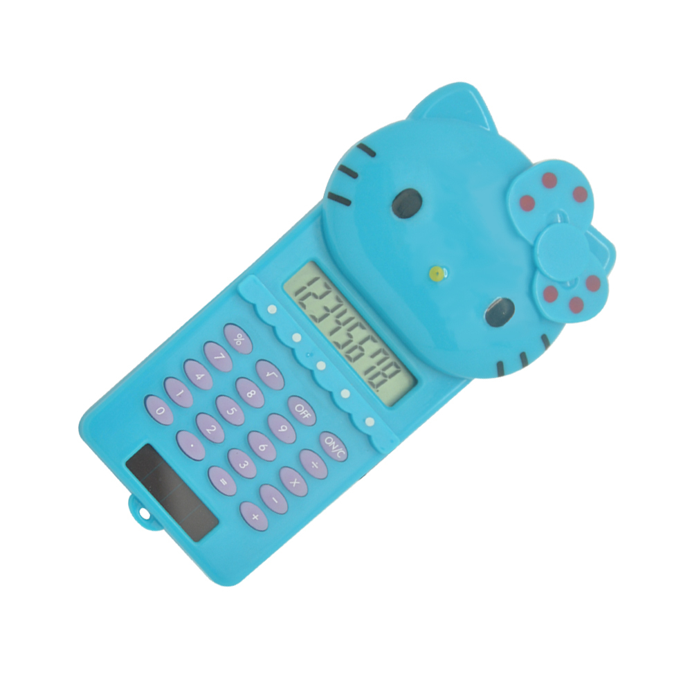 Cartoon Hello Kitty Shape Sliding Calculator