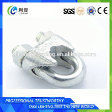 Hot Dip Galvanized Din 741 Wire Rope Clips