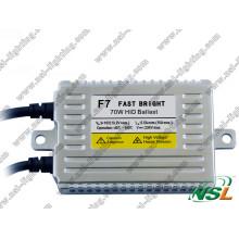 F7 Fast Bright 12V 70W Slim HID lastre