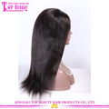 Factory price virgin malaysian human hair full lace wig with baby hair