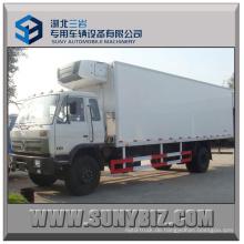 8t 10t 12t 190HP Dongfeng 4X2 gekühlter Van-LKW