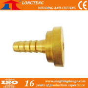 CNC Cutting Machine Use Pipeline Accessories and Brass Fitting