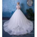 Plus Size mangas compridas vestido de baile vestido de noiva vestido de noiva China