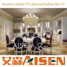 Sevilha 2014 Aisen Novo design gabinete de cozinha de PVC armários de madeira Hangzhou