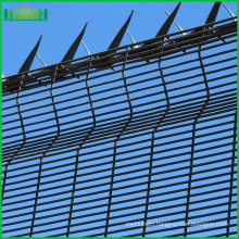 2.4m High 358 Prison Mesh Fencing
