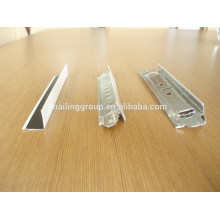 Exposed Slotted CeilingT Grid/Bar For Mineral Fiber Board