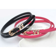 kids Fashion PU waist belt for dressing