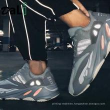 Fashion Sneaker Breathable Yeezy 350 380 500 700 V2 Zebra Running Shoe for Men