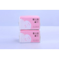 Baby Tissue Facial Sanitary Paper with Pink Package