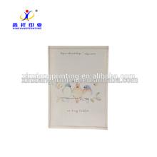 Elegantes almohadillas de notas adhesivas al por menor preimpresas con tableta de escritura