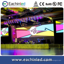 6.9mm rgb led video wall dj stand / cabinas