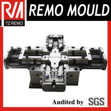 Cavidad 4 PVC montaje de molde de inyección