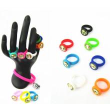 2016 Werbegeschenk Sport Silikon Gummi Finger O-Ringe