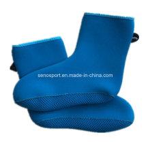 Chaussettes antidérapantes personnalisées à long-plage pour adulte (SNNS07)