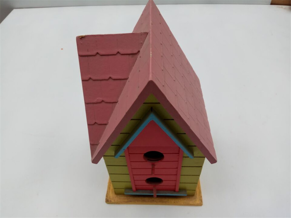 high quality noble castle wooden bird house