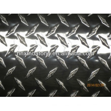 placa quadriculada de piso de alumínio