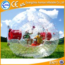 Kid size clear hamster ball / human inflatable zorb ball with good zipper