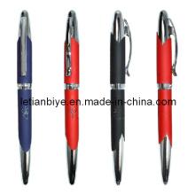 Rubber Metal Pen with Laser Logo (LT-C148)