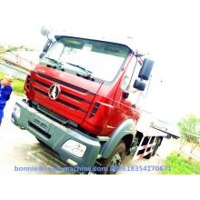 Camión de plataforma plana Beiben 6x4 16ton de gran capacidad
