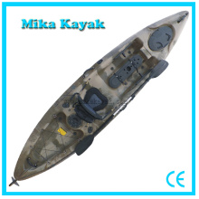 Sea Transparent Kayak Con Pedales Fishing Paddle Boat with Rudder