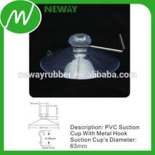 Fabricante para Transparent 63mm PVC Suction Cup
