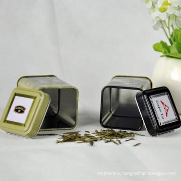 Chinese Custom Square Packaging Tea Packaging Tin Box
