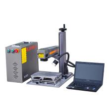 Máquina de marcado láser de fibra de escritorio 10w para la venta