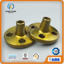 Bride forgée de bride d'acier au carbone A105n d'ASME B16.5 Wn avec TUV (KT0261)