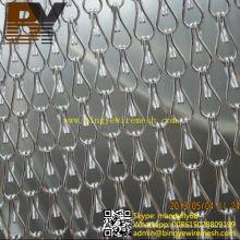 Mosquitera Anti-insecto de aluminio con enlace de cadena