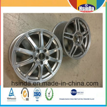 Aluminium-Verschleißfestigkeits-Auto-Rad-Nabe Spezielle Mtalic-Pulver-Beschichtung