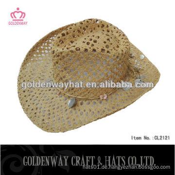 Frauen Papier Cowboy Hüte für Verkauf billig