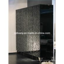 Post estilo moderno quarto armário de madeira (LS-640-4)