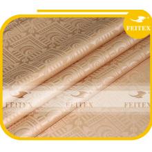 FEITEX Guinea brocado shadda bazin riche 10 metros / bolsa de alta calidad 100% algodón al por mayor tela de estilo africano