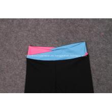 Pantalones de las mujeres Spring Summe deporte noveno