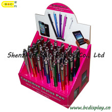 for iPad iPhone Telephone Handwriting Pen Counter PDQ Box, Paper Box, PDQ Display Box (B&C-D026)