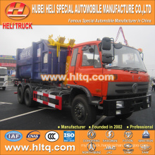DONGFENG new model 18cbm 6X4 210hp pulling arm garbage truck high quality best selling in China