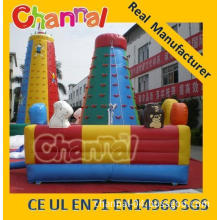 Inflatable Kids Climbing Wall Inflatable Children Roll Climb Wall (JW0714-3)