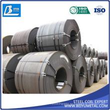 Bobina de acero laminado en caliente HRC SPHC SAE1006 ASTM A36
