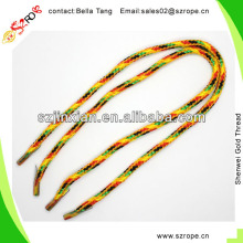 5MM Cored Mixed Color PP Braided Rope