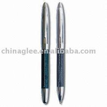 conjunto de canetas de metal